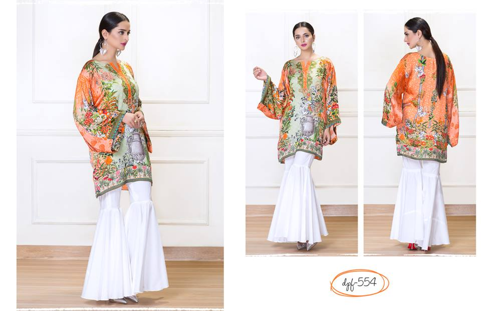 Orange Luxury Silk By So Kamal