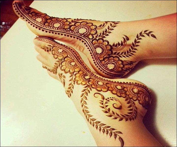 Mehndi Designs Feet N : Latest shaded mehndi designs beststylo
