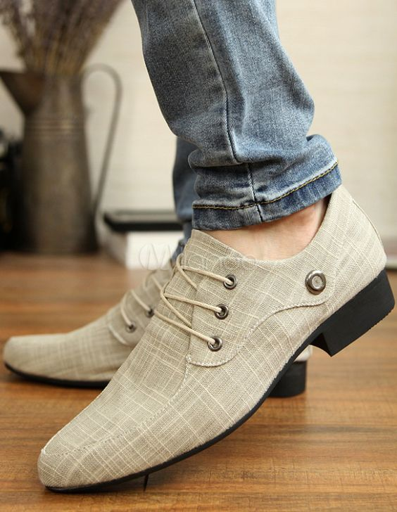Off White check shoes with Heels casual for men