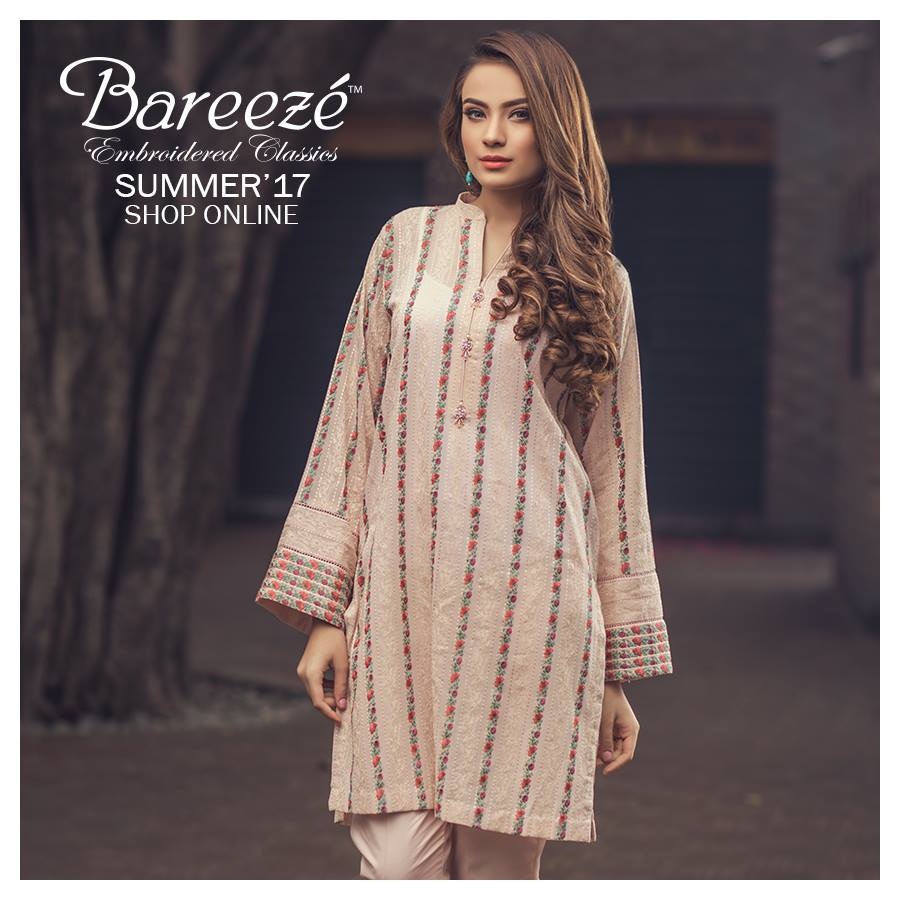 Embroidered Classic Bareeze Latest Collection 2017