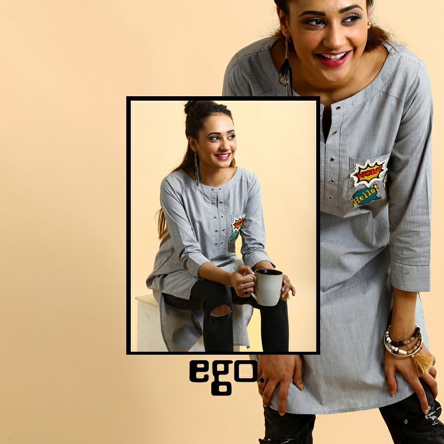 Ego ready to wear shirt for girls eid collection