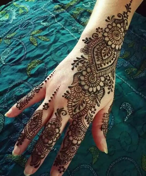 New Arabic Mehndi Designs 2018 For Hands And Feet Beststylo Com