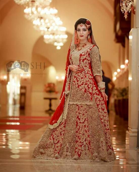 Short Shirt with Lehnga Bridal Dresses