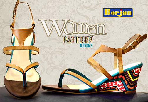 Borjan Printed Heels For Eid