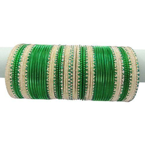 Green Fancy bangles Design