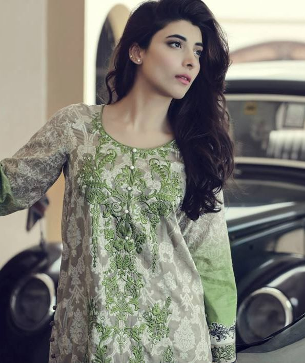 2bd8cbed0c Embroidered Collection_5 for 14 August · saira rizwan 14 august dresses for  girls