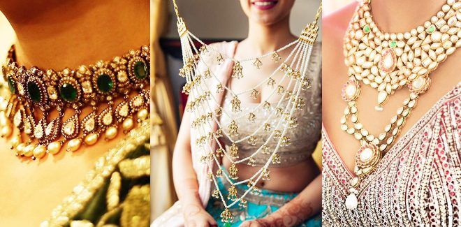 Latest Wedding Necklace Designs For Brides 2018