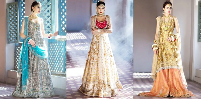 Sania Maskatiya Latest Bridal Dresses Collection 2018