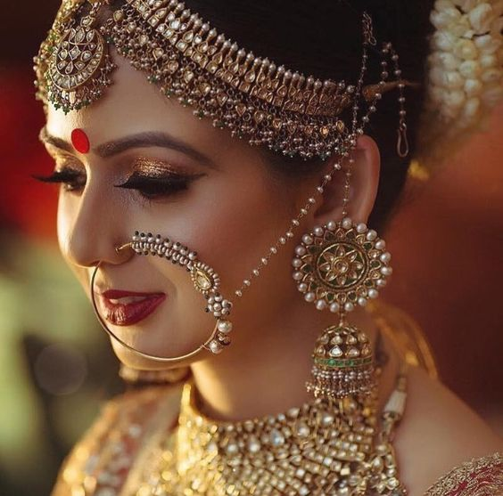 Latest Indian Bridal Jewellery Designs 2018 With Price: Latest Matha Patti Designs For Ladies 2018