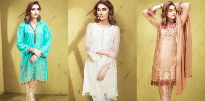 Mausummery Formal Wear Luxe Pret Collection 2019