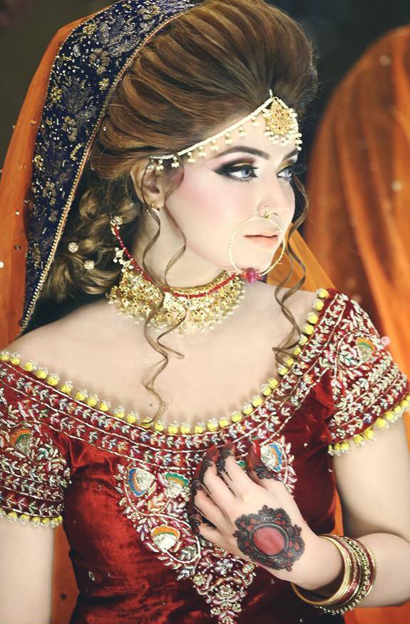 Latest Bridal Makeup Trends 2018 For Pakistani Brides ...