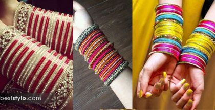 Atrractive bangles for brides