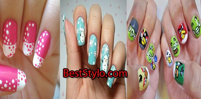 Latest New Year Nail Art Designs 2018