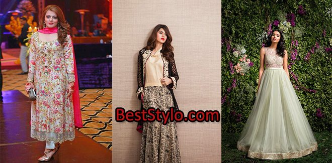 ccd67e25a3 Latest Pakistani Fashion Wedding Guest Dresses 2019 | BestStylo.com