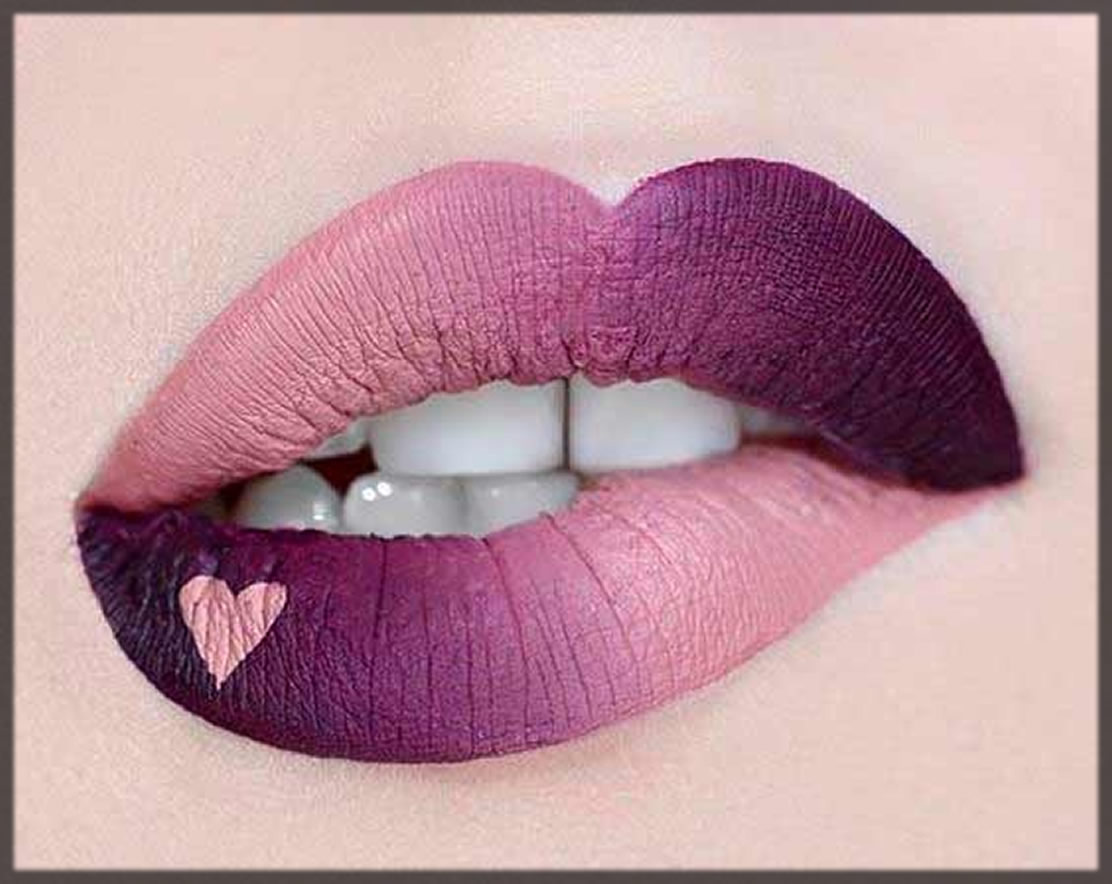 ombre lipstick for parties