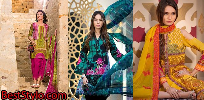 Gul Ahmed Latest Summer Collection 2018