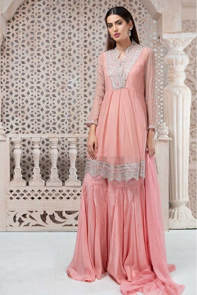 Maria B Peach Suit For Eid