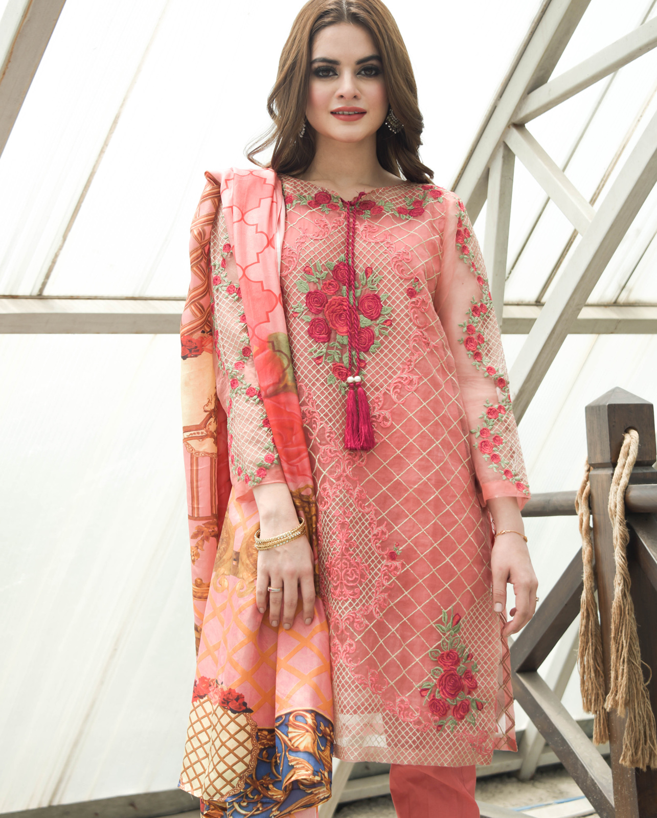 6b90faffbc You can get everything you want for this Eid, all in one from Nimsay Pret Eid  Collection 2019. The vibrant and playful colors complemented with the grand  ...