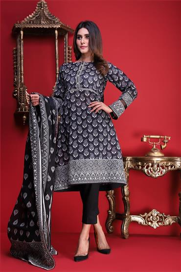Satrangi Sky Midnight Black Eid Collection