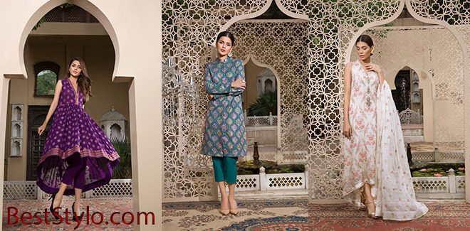 Bareeze New Embroidered Classics Eid Collection 2019