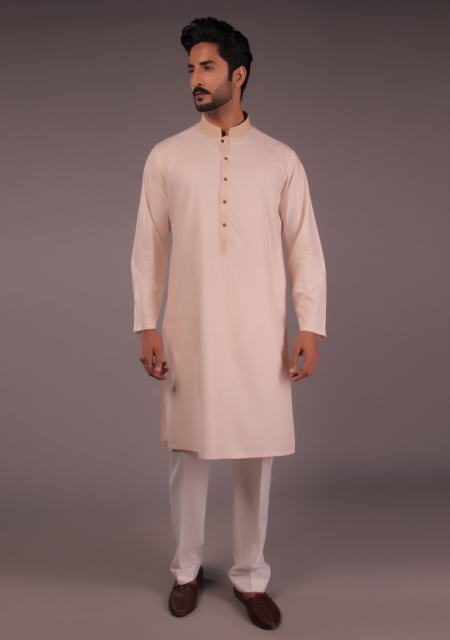 Amir Adnan Blush Kurta For Eid