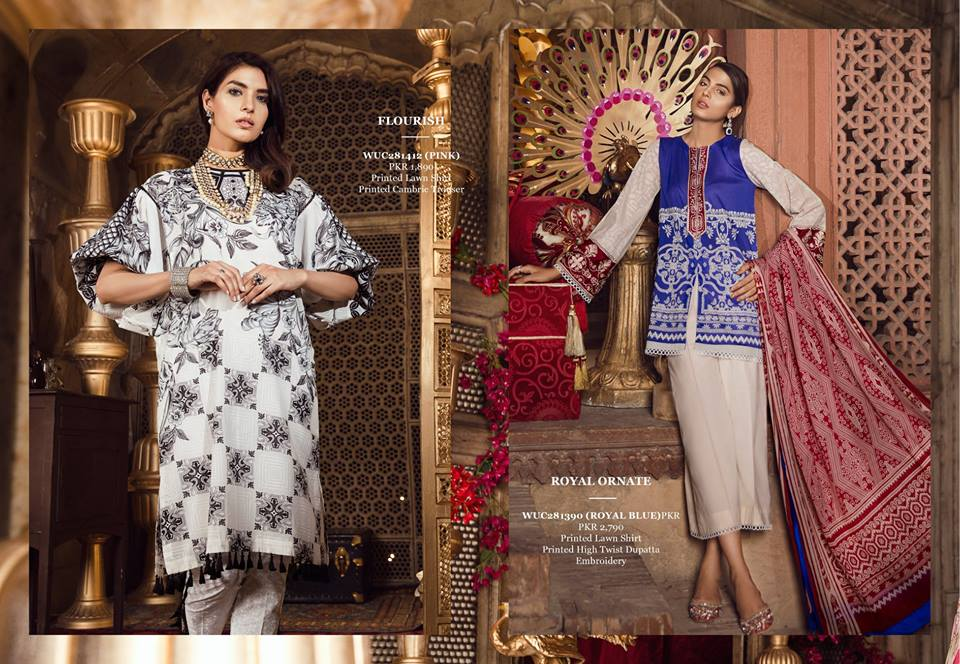 Ethnic Flourist Unstitched Festive Collection