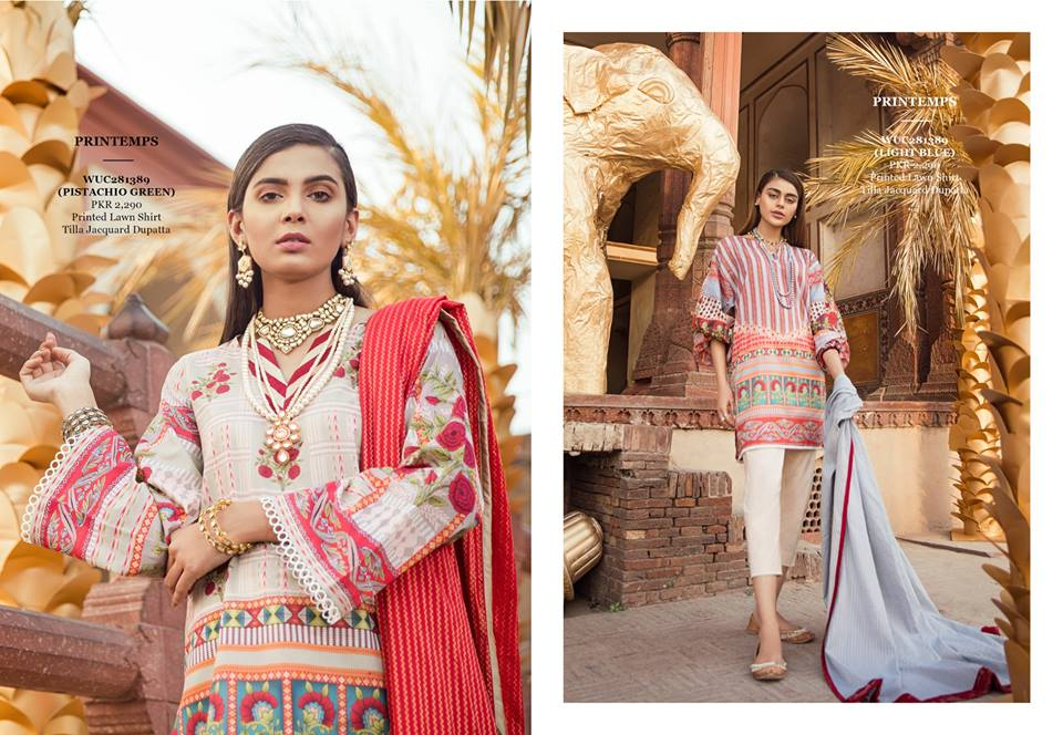 Ethnic Print temps 2pc for Eid