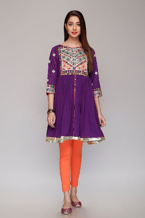 Rang Ja Multi Purple Gala Purple For Eid