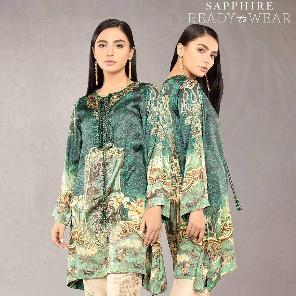 Sapphire Emarld Ready To Wear For Eid