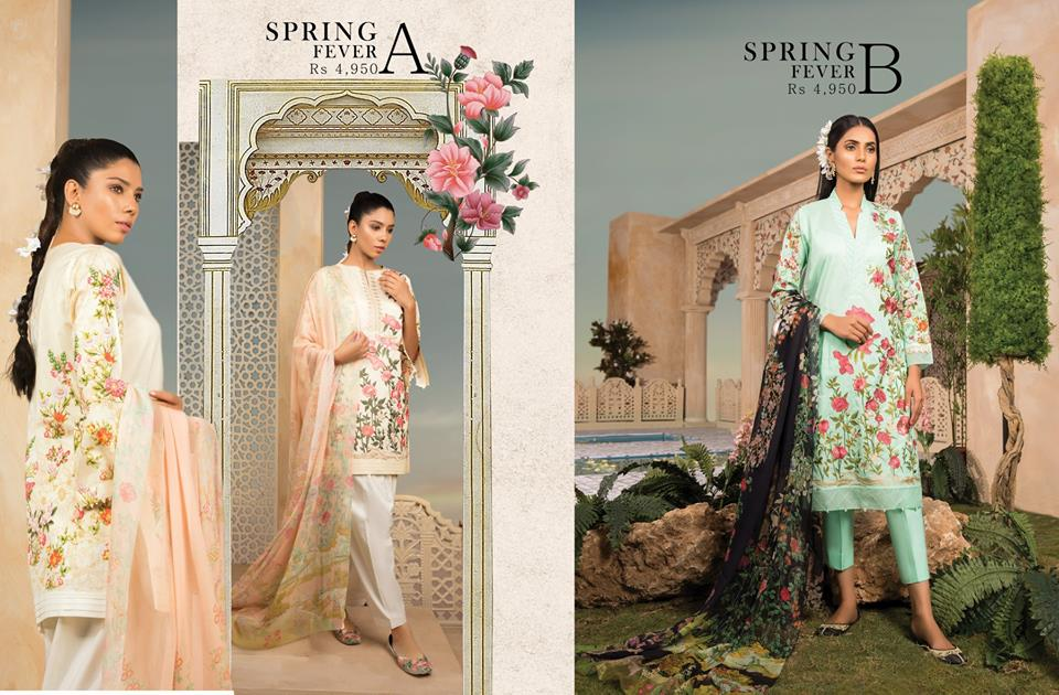 Sapphire Spring Fever 3pc For Eid