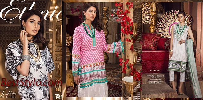 Ethnic By Outfitters Latest Eid Collection 2019