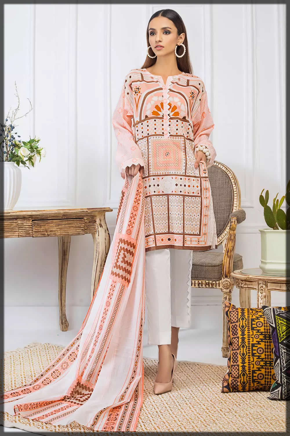 Gul Ahmed 3 PC basic summer collection