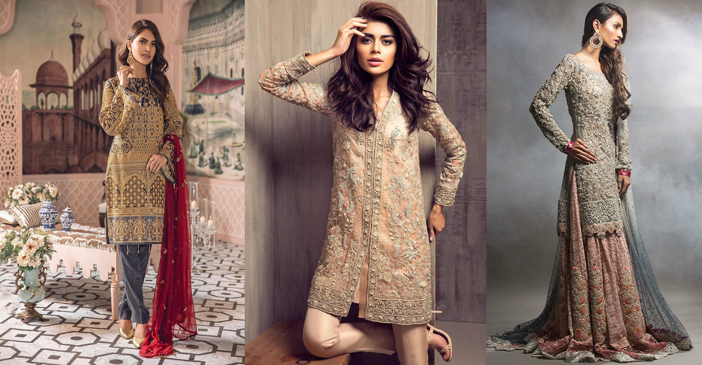 Pakistani wedding guest dresses
