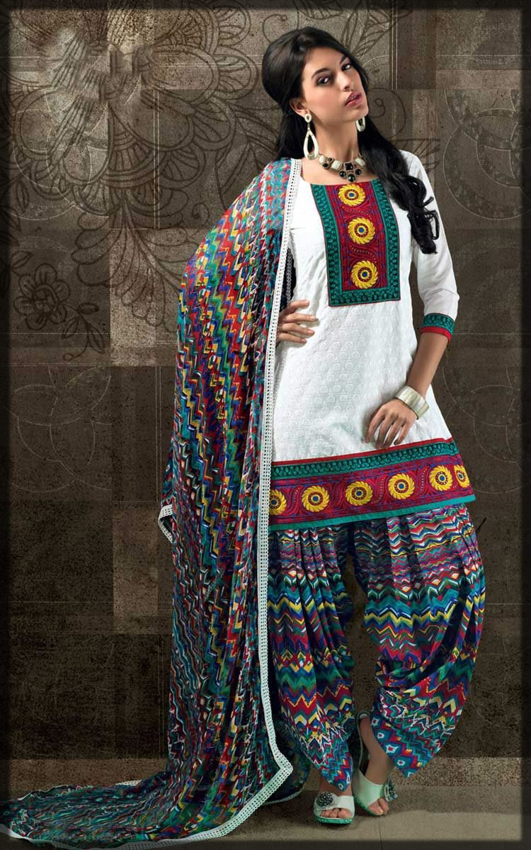 Patiala shalwar stitching designs