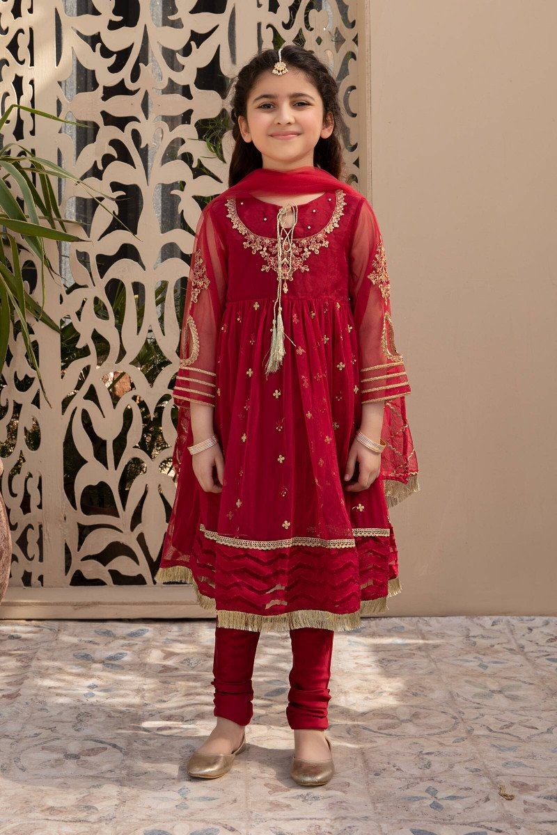 Red frock for kids