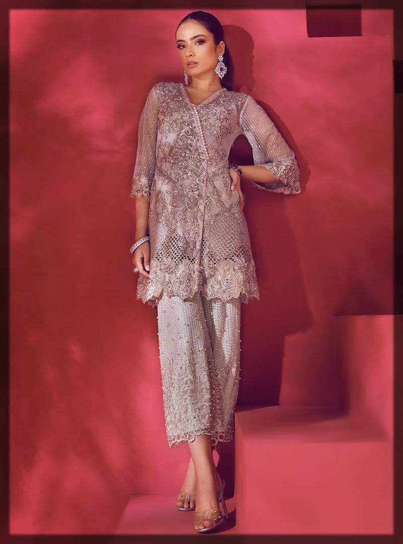 angrakha style dress by zainab chottani formal dresses collection