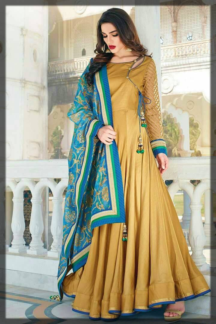 angrakha style dresses and designs for women