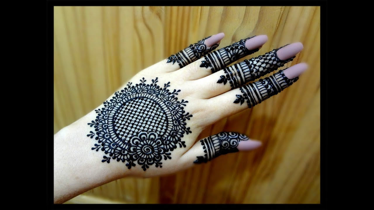 criss and cross mehndi