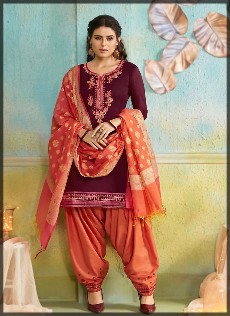 embroidered patiala shalwar kameez