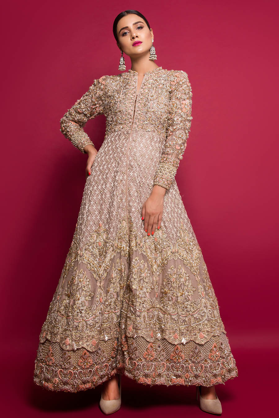 formal Pakistani gowns