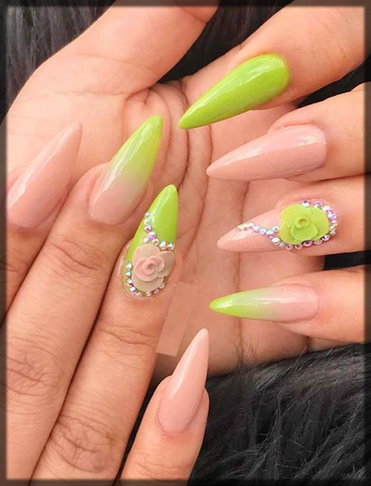 funky nail art styles for girls