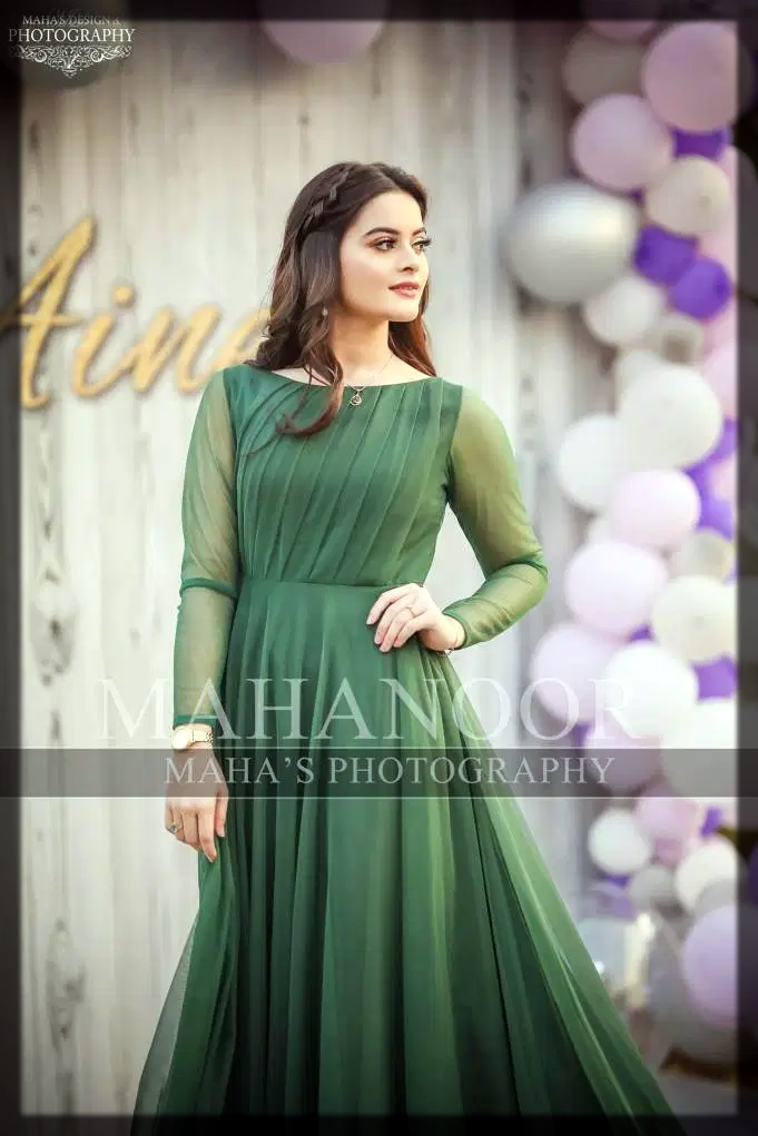 green outfit for bride to be
