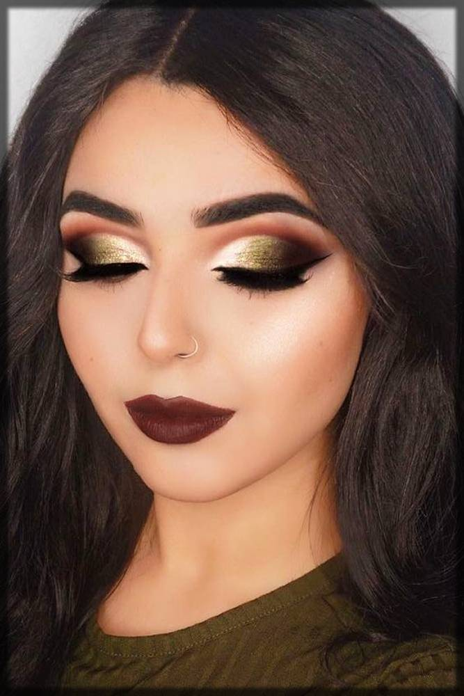 latest and trendy winter makeup for girls
