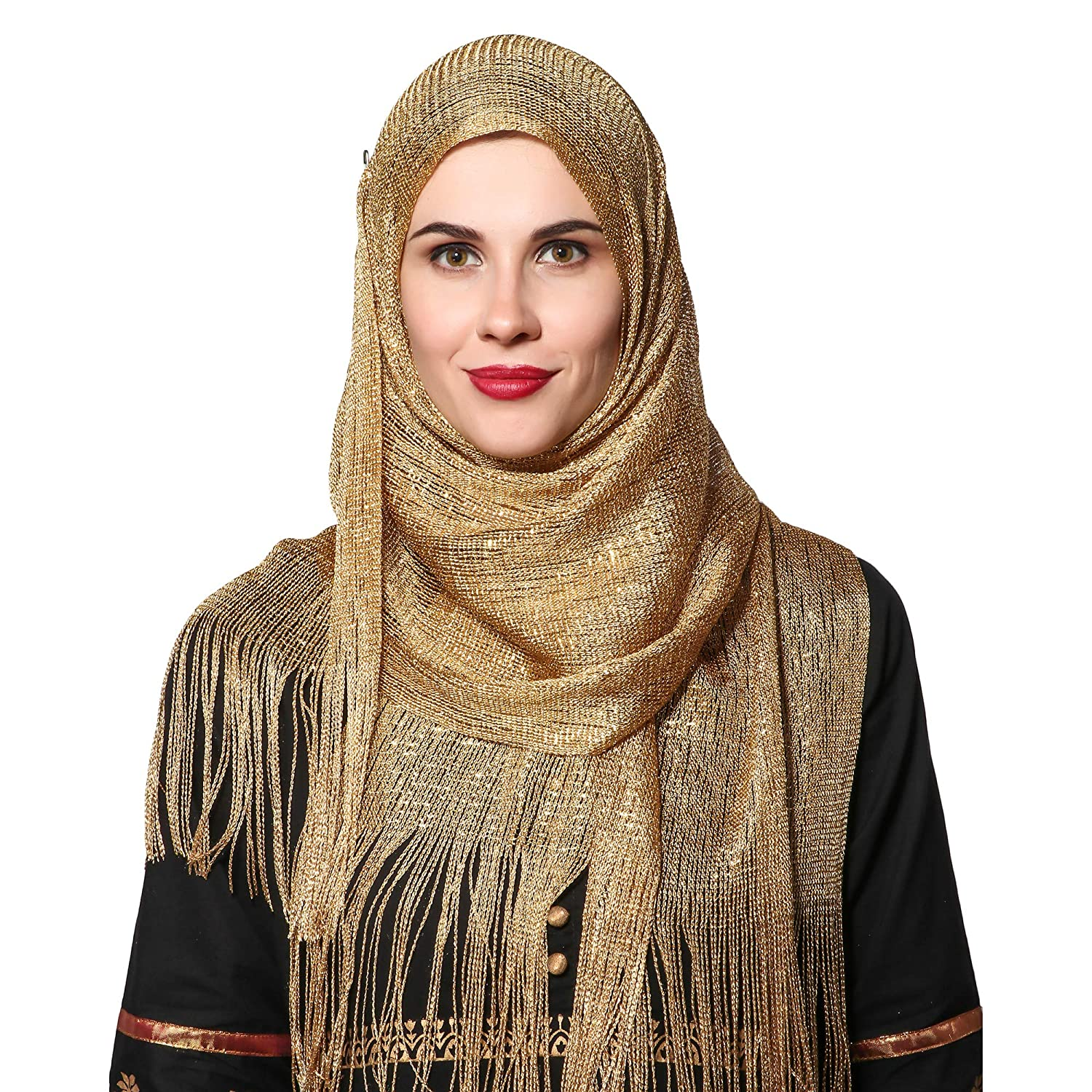 party wear hojab styles for pakistani outfit