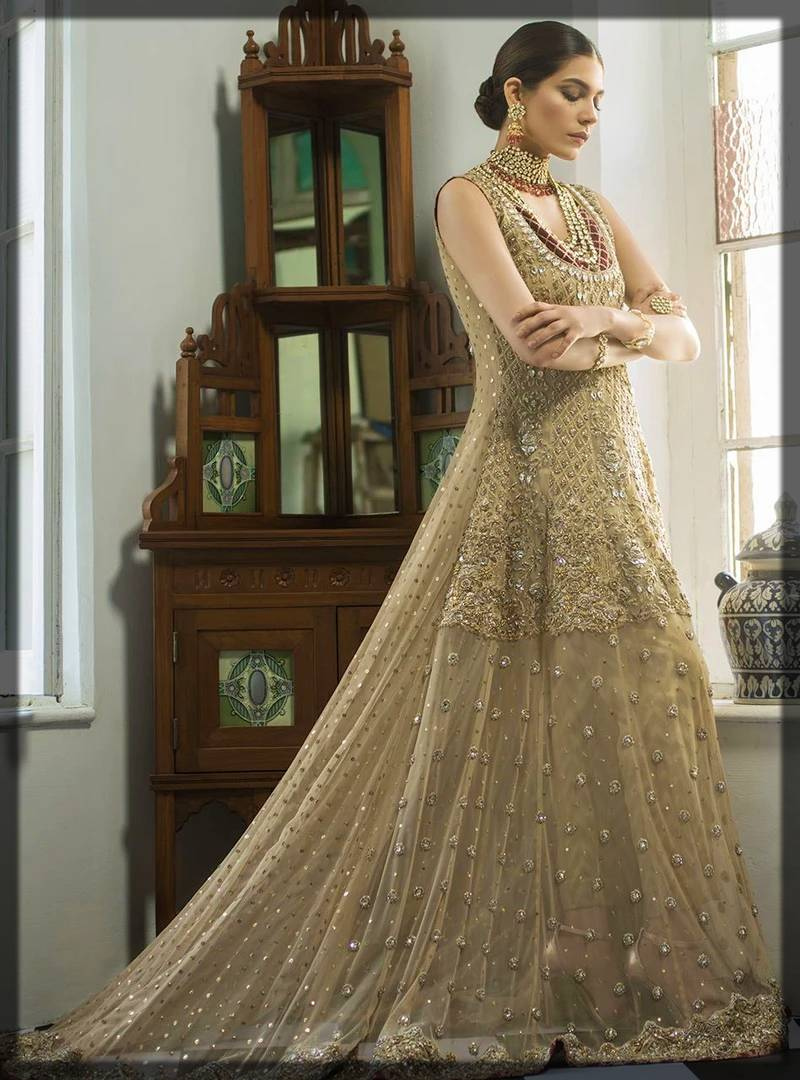 walima dress by zainab chottani heavy formals