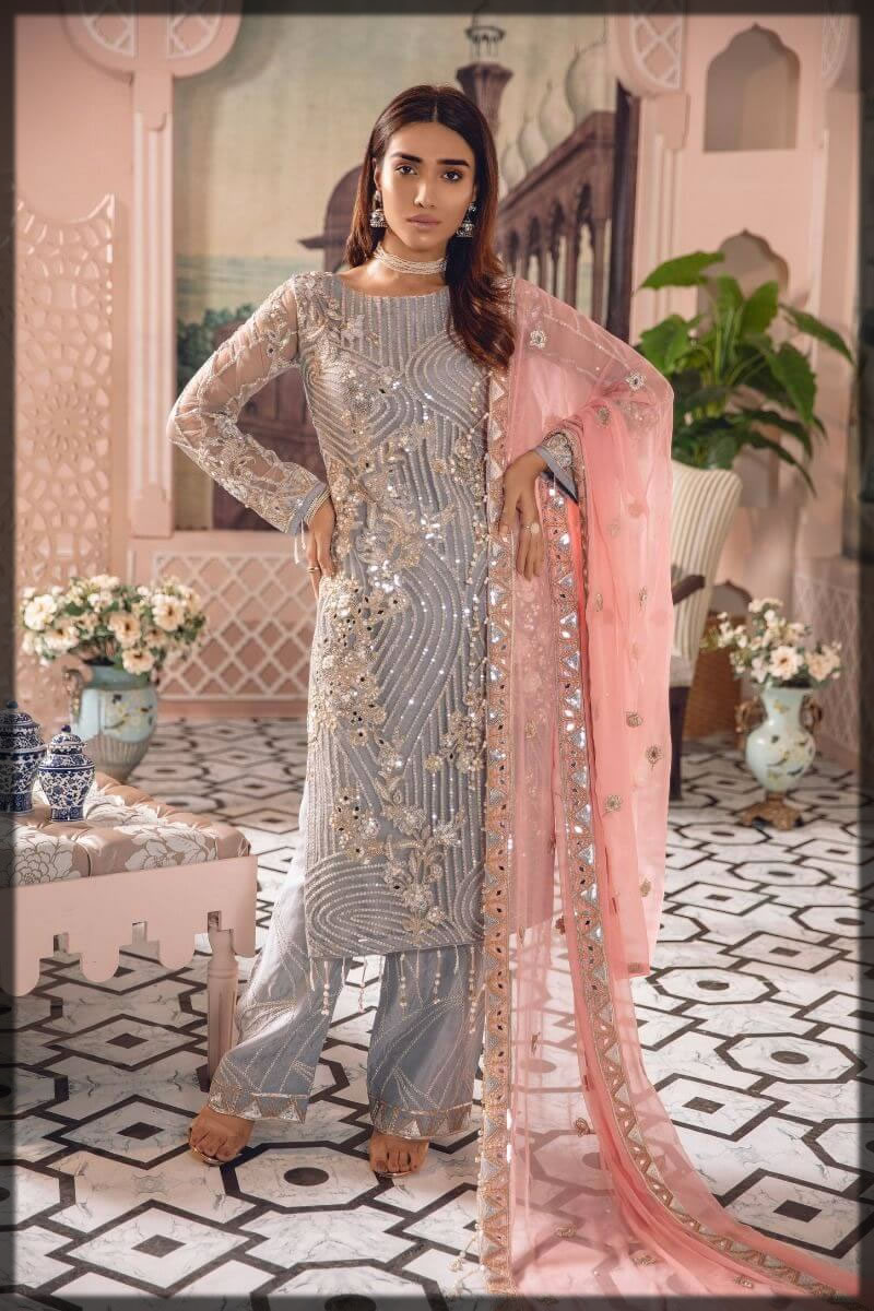 Stylish Pakistani Wedding Guest Dresses 2021 Fancy Outfit Ideas