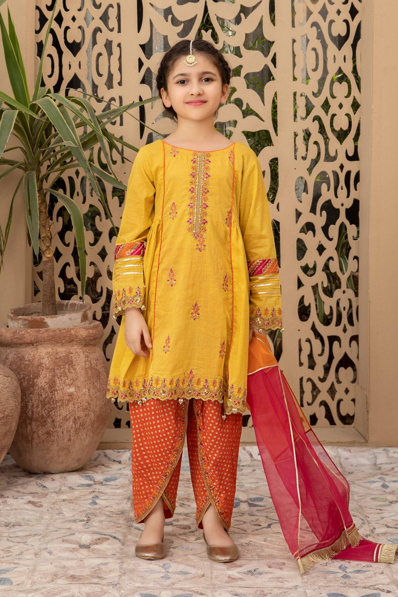 yellow dress for kids