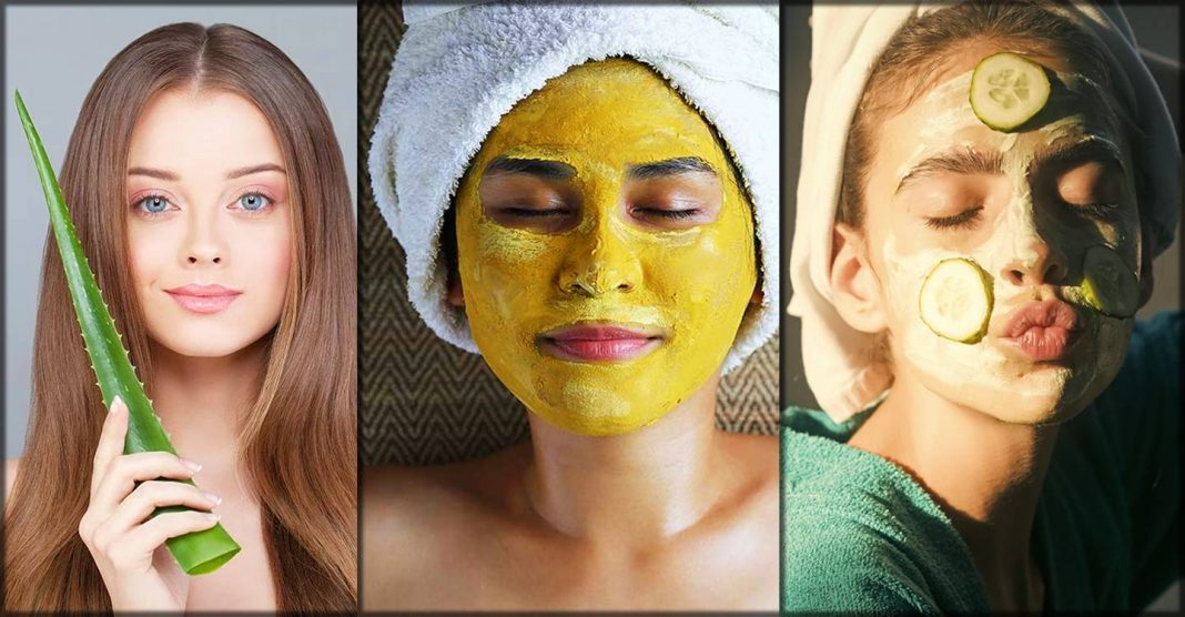 natural herbal beauty tips for glowing skin