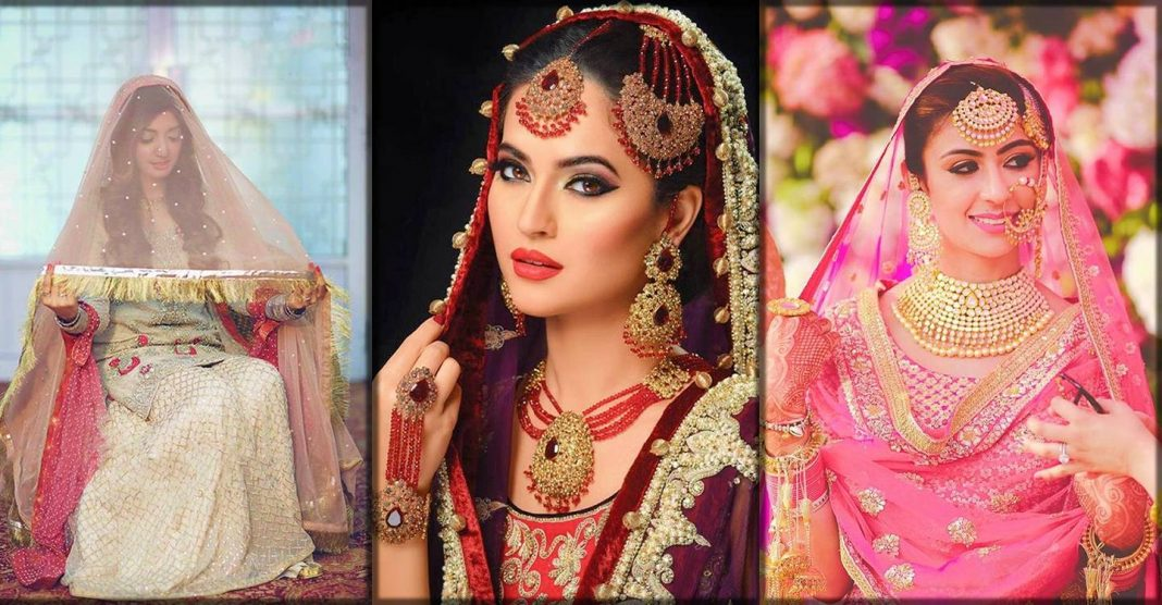 Latest Bridal dupatta setting styles 2020