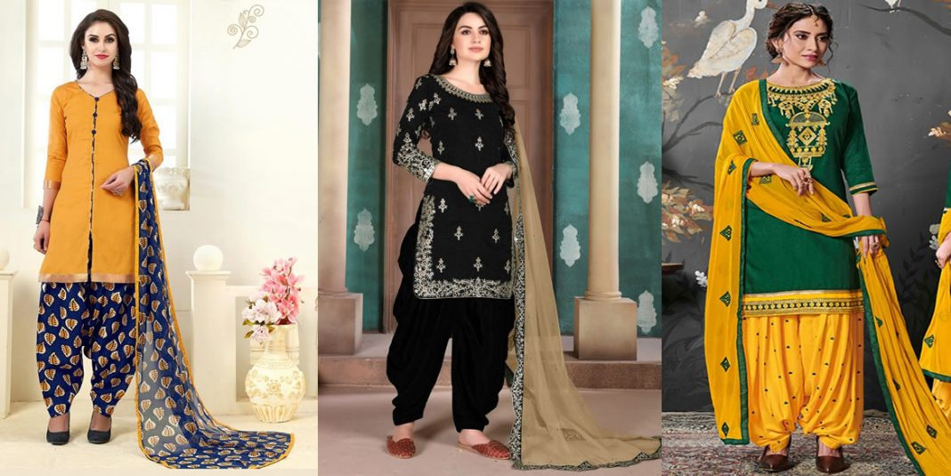 Stylish Patiala Shalwar Kameez